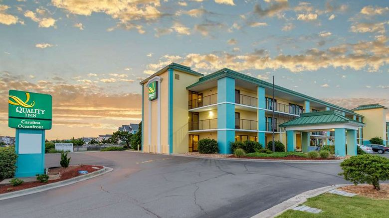 """Quality Inn North Oceanfront Exterior. Images powered by <a href=""""http://web.iceportal.com"""" target=""""_blank"""" rel=""""noopener"""">Ice Portal</a>."""