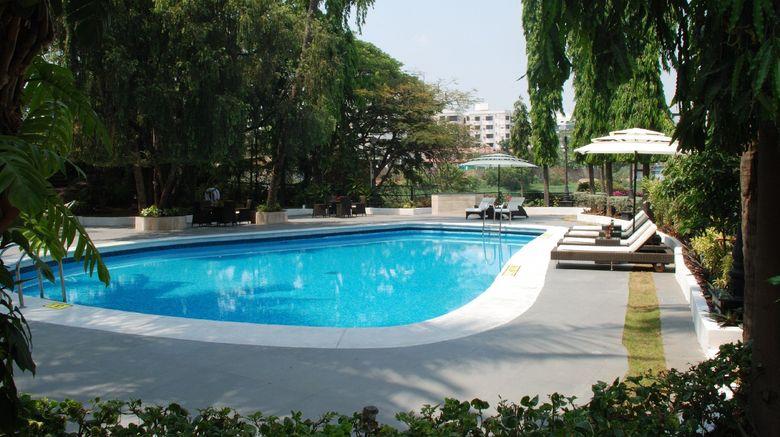 "<b>Taj Banjara Hotel Pool</b>. Images powered by <a href=""https://leonardo.com/"" title=""Leonardo Worldwide"" target=""_blank"">Leonardo</a>."
