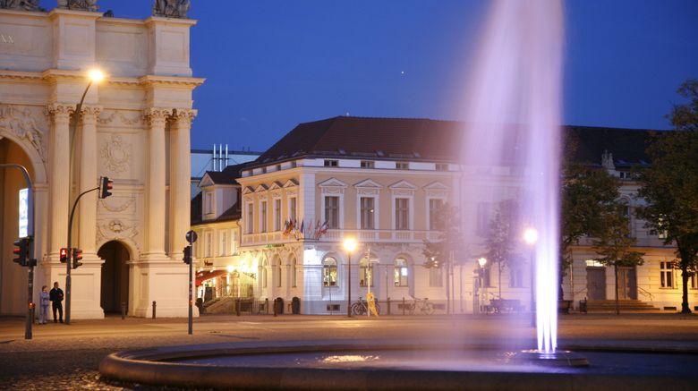 "Hotel Am Brandenburger Tor Exterior. Images powered by <a href=""http://www.leonardo.com"" target=""_blank"" rel=""noopener"">Leonardo</a>."