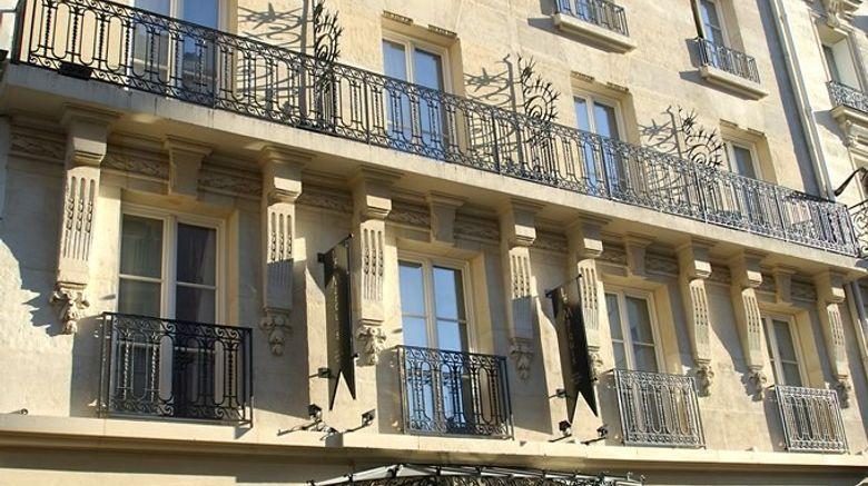 "Hotel Le Marquis Eiffel Exterior. Images powered by <a href=""http://www.leonardo.com"" target=""_blank"" rel=""noopener"">Leonardo</a>."
