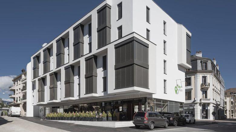 "Hotel Base Nyon Exterior. Images powered by <a href=""http://www.leonardo.com"" target=""_blank"" rel=""noopener"">Leonardo</a>."