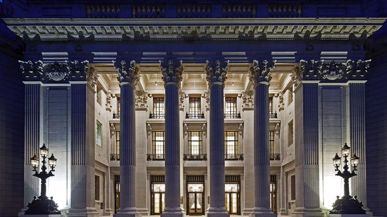"Four Seasons Hotel London at Ten Trinity Exterior. Images powered by <a href=""http://www.leonardo.com"" target=""_blank"" rel=""noopener"">Leonardo</a>."