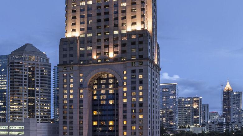 "Four Seasons Hotel Atlanta Exterior. Images powered by <a href=""http://www.leonardo.com"" target=""_blank"" rel=""noopener"">Leonardo</a>."
