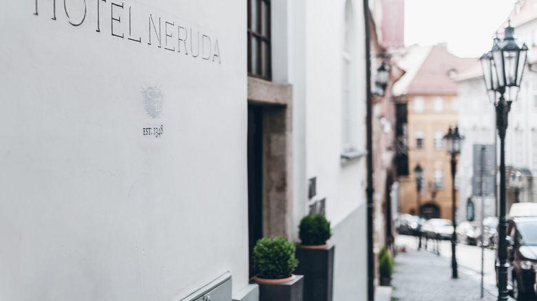 """Design Hotel Neruda Exterior. Images powered by <a href=""""http://www.leonardo.com"""" target=""""_blank"""" rel=""""noopener"""">Leonardo</a>."""