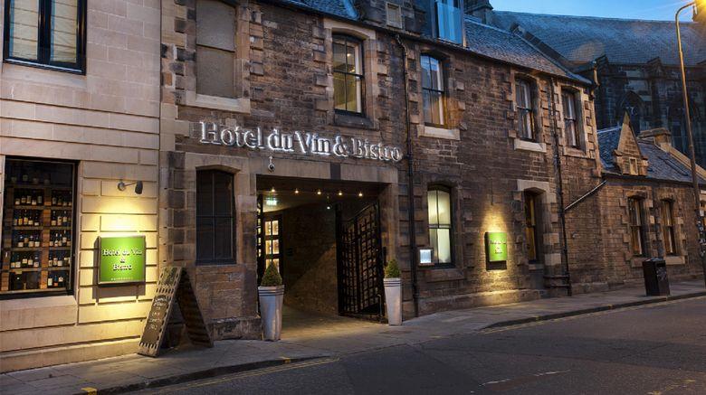 "Hotel du Vin Edinburgh Exterior. Images powered by <a href=""http://www.leonardo.com"" target=""_blank"" rel=""noopener"">Leonardo</a>."