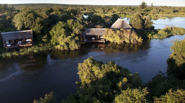 "Royal Chundu Zambezi Lodges Exterior. Images powered by <a href=""http://www.leonardo.com"" target=""_blank"" rel=""noopener"">Leonardo</a>."