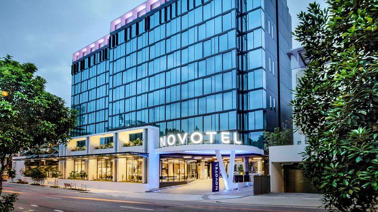 "Novotel Brisbane South Bank Hotel Exterior. Images powered by <a href=""http://www.leonardo.com"" target=""_blank"" rel=""noopener"">Leonardo</a>."