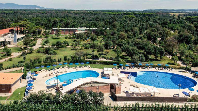 "Mercure Green Park Resort Tirrenia Exterior. Images powered by <a href=""http://www.leonardo.com"" target=""_blank"" rel=""noopener"">Leonardo</a>."