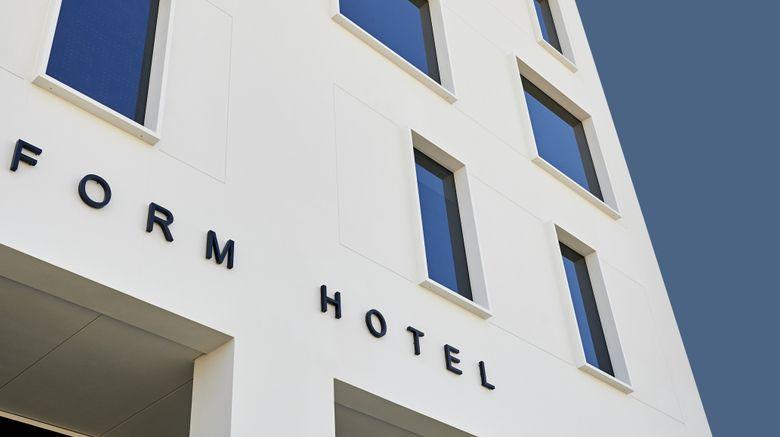 """FORM Hotel Dubai Exterior. Images powered by <a href=""""http://www.leonardo.com"""" target=""""_blank"""" rel=""""noopener"""">Leonardo</a>."""