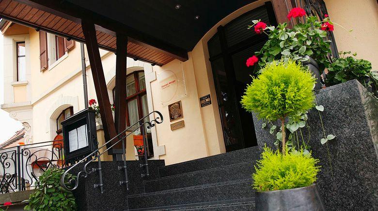 "Georges Wenger Hotel Exterior. Images powered by <a href=""http://www.leonardo.com"" target=""_blank"" rel=""noopener"">Leonardo</a>."