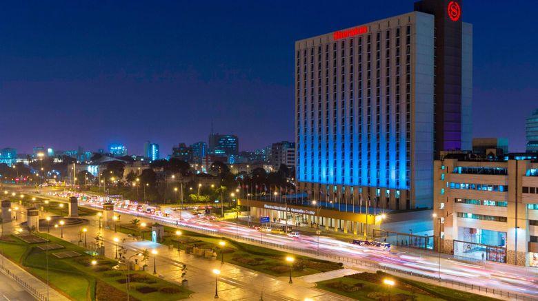 "Sheraton Lima Hotel  and  Convention Center Exterior. Images powered by <a href=""http://www.leonardo.com"" target=""_blank"" rel=""noopener"">Leonardo</a>."