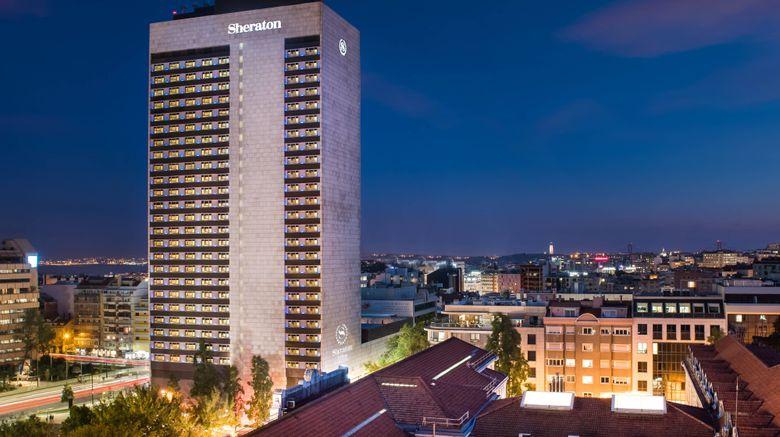"Sheraton Lisboa Hotel  and  Spa Exterior. Images powered by <a href=""http://www.leonardo.com"" target=""_blank"" rel=""noopener"">Leonardo</a>."