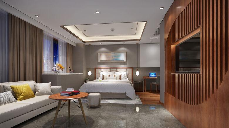 "<b>Holiday Inn/Suites Xi'an High-Tech Zone Room</b>. Images powered by <a href=""https://leonardo.com/"" title=""Leonardo Worldwide"" target=""_blank"">Leonardo</a>."