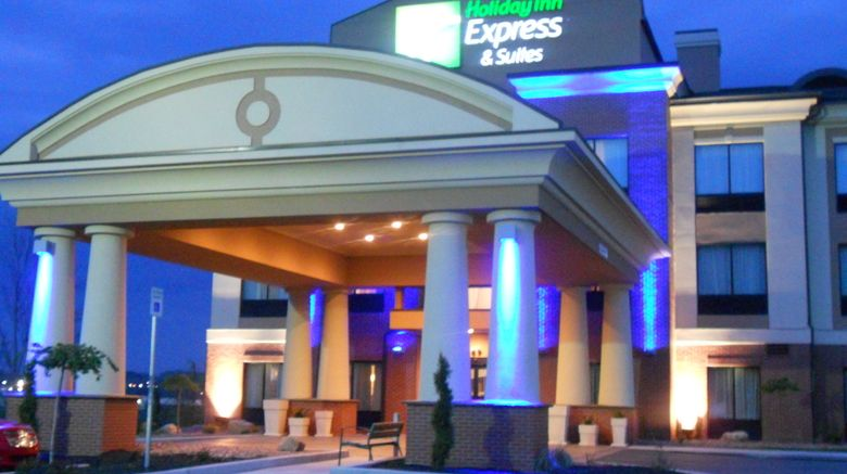 """Holiday Inn Express  and  Suites Greensburg Exterior. Images powered by <a href=""""http://www.leonardo.com"""" target=""""_blank"""" rel=""""noopener"""">Leonardo</a>."""