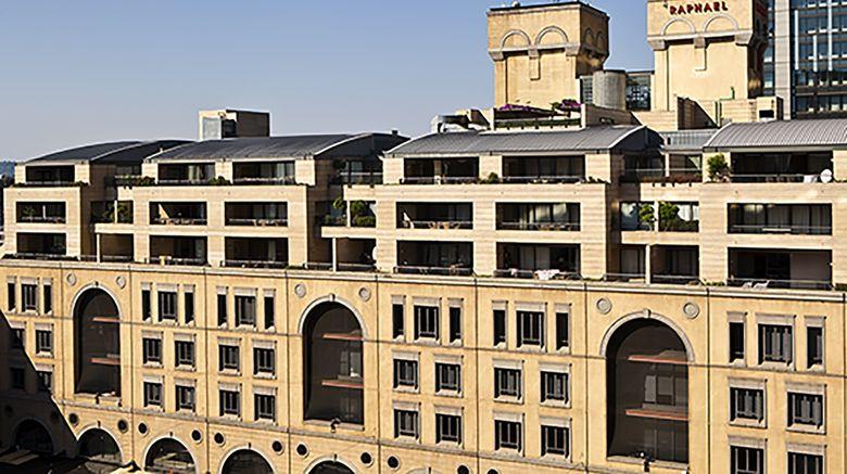 "Raphael Penthouse Suites Exterior. Images powered by <a href=""http://www.leonardo.com"" target=""_blank"" rel=""noopener"">Leonardo</a>."