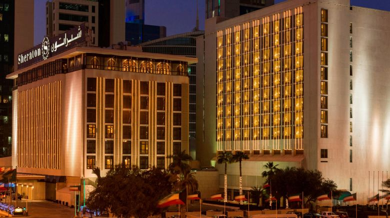 """Sheraton Kuwait, Luxury Collection Hotel Exterior. Images powered by <a href=""""http://www.leonardo.com"""" target=""""_blank"""" rel=""""noopener"""">Leonardo</a>."""