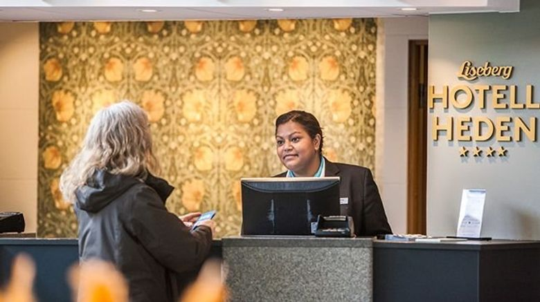 "<b>Hotel Liseberg Heden Lobby</b>. Images powered by <a href=""https://leonardo.com/"" title=""Leonardo Worldwide"" target=""_blank"">Leonardo</a>."