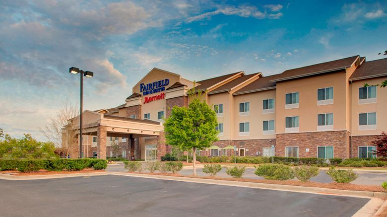 """Fairfield Inn  and  Suites EastChase Exterior. Images powered by <a href=""""http://www.leonardo.com"""" target=""""_blank"""" rel=""""noopener"""">Leonardo</a>."""