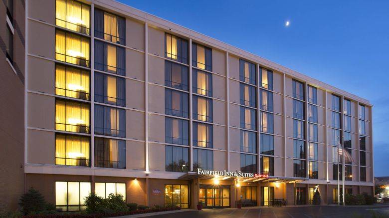 """Fairfield Inn  and  Suites Downtown Exterior. Images powered by <a href=""""http://www.leonardo.com"""" target=""""_blank"""" rel=""""noopener"""">Leonardo</a>."""