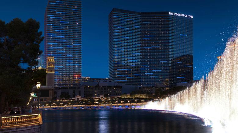"<b>The Cosmopolitan of Las Vegas Exterior</b>. Images powered by <a href=""https://leonardo.com/"" title=""Leonardo Worldwide"" target=""_blank"">Leonardo</a>."