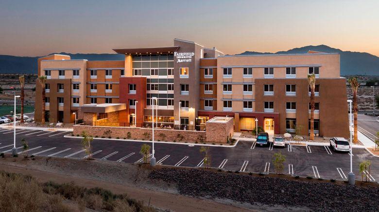 "Fairfield Inn  and  Suites Palm Desert Exterior. Images powered by <a href=""http://www.leonardo.com"" target=""_blank"" rel=""noopener"">Leonardo</a>."
