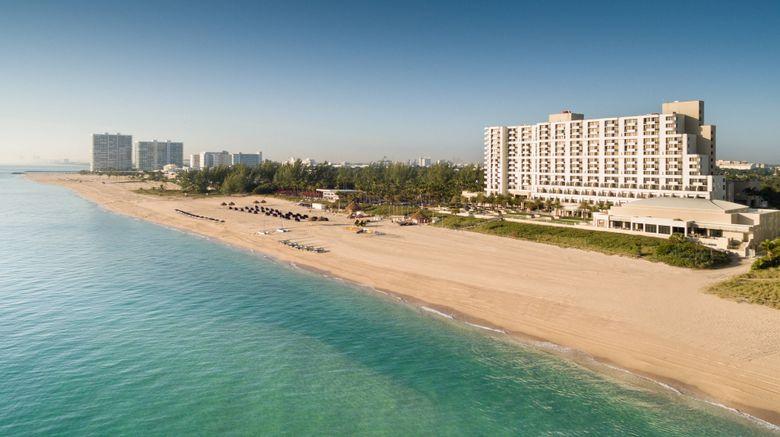 "Fort Lauderdale Marriott Harbor Beach Exterior. Images powered by <a href=""http://www.leonardo.com"" target=""_blank"" rel=""noopener"">Leonardo</a>."
