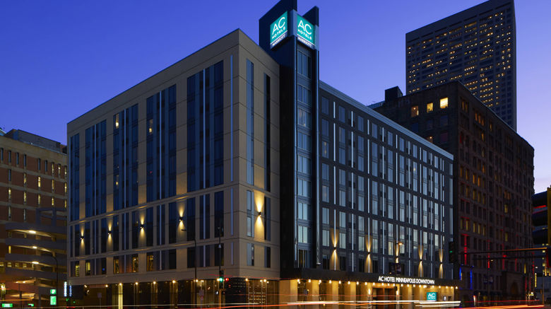 "AC Hotel Minneapolis Downtown Exterior. Images powered by <a href=""http://www.leonardo.com"" target=""_blank"" rel=""noopener"">Leonardo</a>."