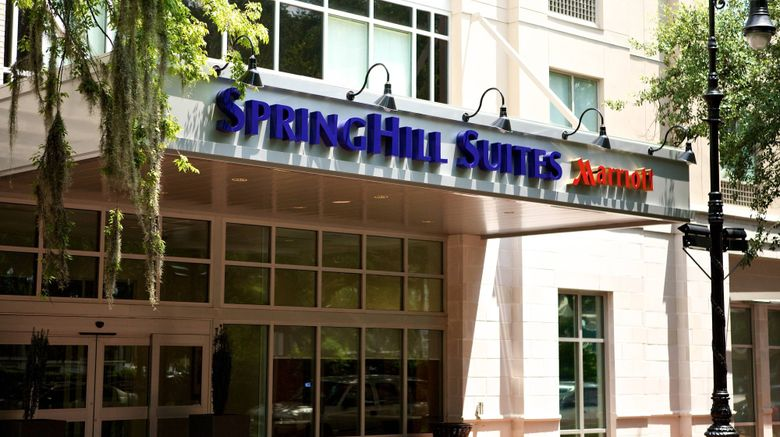 """SpringHill Suites Downtown/Historic Dist Exterior. Images powered by <a href=""""http://www.leonardo.com"""" target=""""_blank"""" rel=""""noopener"""">Leonardo</a>."""