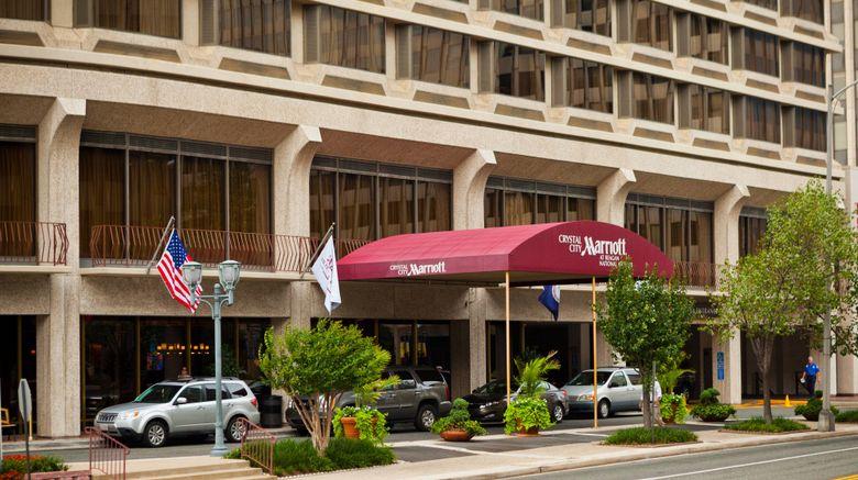 "Crystal City Marriott at Reagan National Exterior. Images powered by <a href=""http://www.leonardo.com"" target=""_blank"" rel=""noopener"">Leonardo</a>."