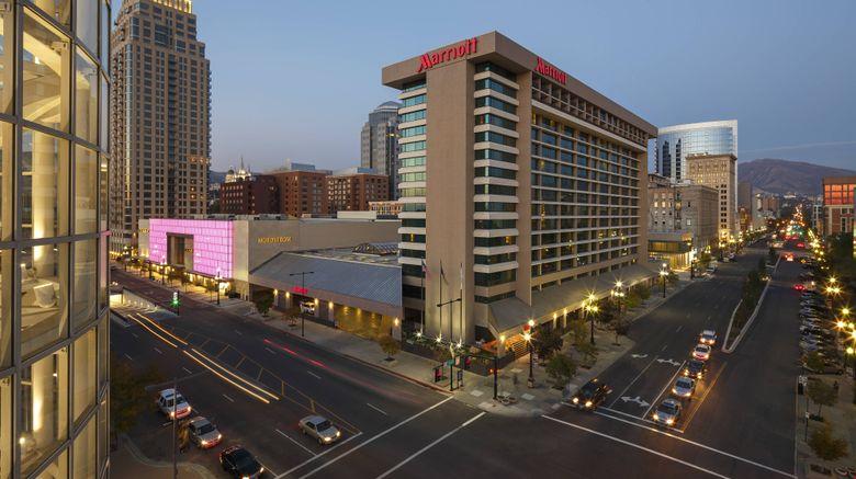"Salt Lake Marriott Downtown City Creek Exterior. Images powered by <a href=""http://www.leonardo.com"" target=""_blank"" rel=""noopener"">Leonardo</a>."