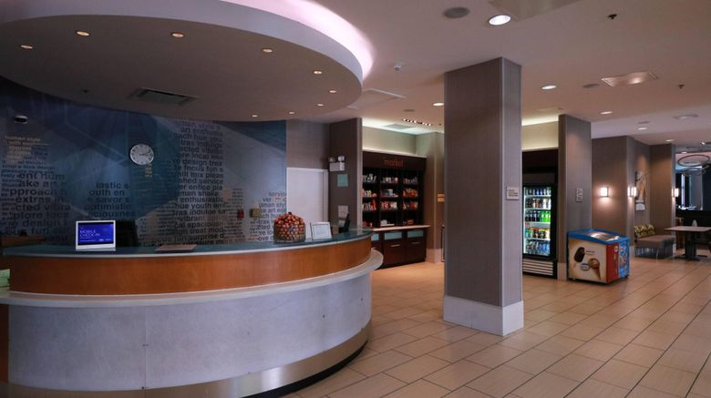 "SpringHill Suites San Antonio Downtown Lobby. Images powered by <a href=""http://www.leonardo.com"" target=""_blank"" rel=""noopener"">Leonardo</a>."