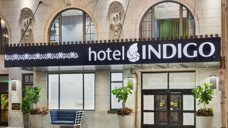 "Hotel Indigo Nashville Exterior. Images powered by <a href=""http://www.leonardo.com"" target=""_blank"" rel=""noopener"">Leonardo</a>."