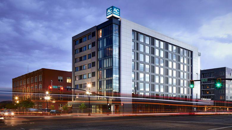 "AC Hotel Salt Lake City Downtown Exterior. Images powered by <a href=""http://www.leonardo.com"" target=""_blank"" rel=""noopener"">Leonardo</a>."