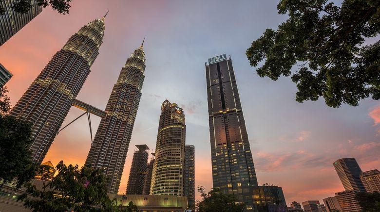 "Four Seasons Hotel Kuala Lumpur Exterior. Images powered by <a href=""http://www.leonardo.com"" target=""_blank"" rel=""noopener"">Leonardo</a>."