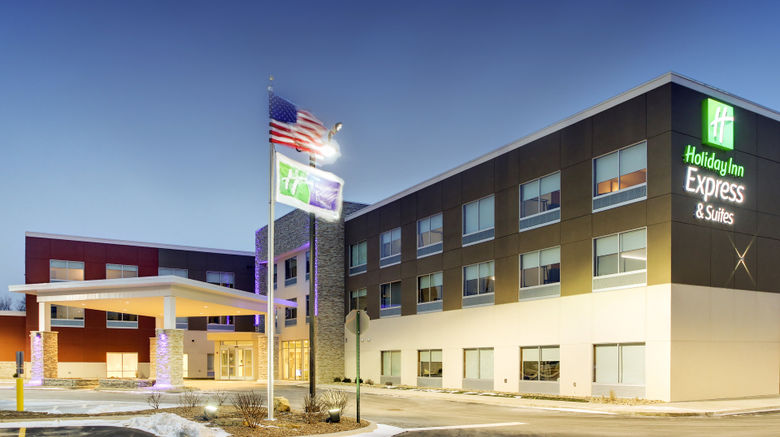 """Holiday Inn Express  and  Suites Galesburg Exterior. Images powered by <a href=""""http://www.leonardo.com"""" target=""""_blank"""" rel=""""noopener"""">Leonardo</a>."""