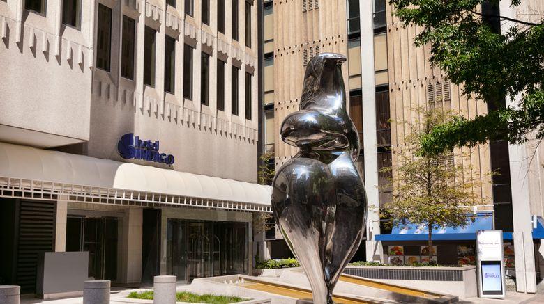 """Hotel Indigo Atlanta Downtown Exterior. Images powered by <a href=""""http://www.leonardo.com"""" target=""""_blank"""" rel=""""noopener"""">Leonardo</a>."""