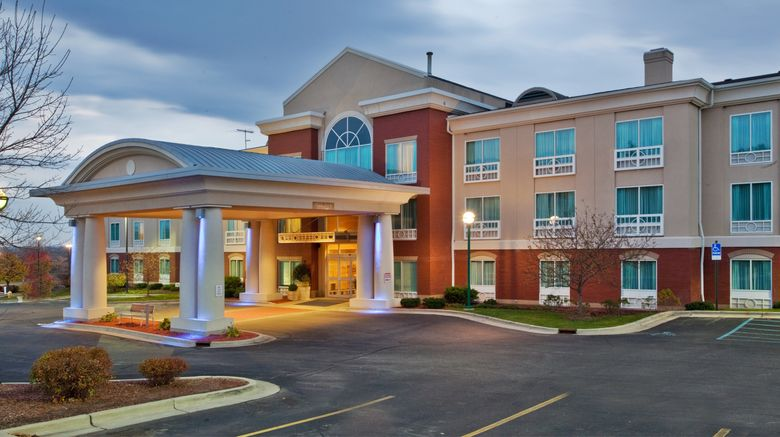 """Holiday Inn Express Hotel  and  Suites-North Exterior. Images powered by <a href=""""http://www.leonardo.com"""" target=""""_blank"""" rel=""""noopener"""">Leonardo</a>."""