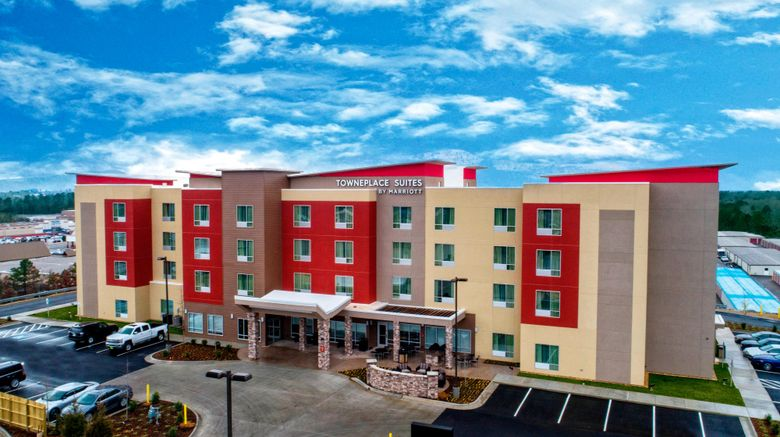 """TownePlace Suites Hot Springs Exterior. Images powered by <a href=""""http://www.leonardo.com"""" target=""""_blank"""" rel=""""noopener"""">Leonardo</a>."""