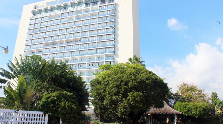 """The Jamaica Pegasus Hotel Exterior. Images powered by <a href=""""http://www.leonardo.com"""" target=""""_blank"""" rel=""""noopener"""">Leonardo</a>."""