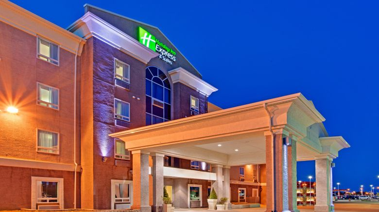 """Holiday Inn Express  and  Stes Swift Current Exterior. Images powered by <a href=""""http://www.leonardo.com"""" target=""""_blank"""" rel=""""noopener"""">Leonardo</a>."""