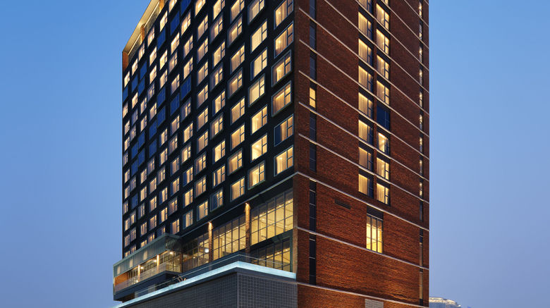 """Four Points by Sheraton Chinatown Exterior. Images powered by <a href=""""http://www.leonardo.com"""" target=""""_blank"""" rel=""""noopener"""">Leonardo</a>."""