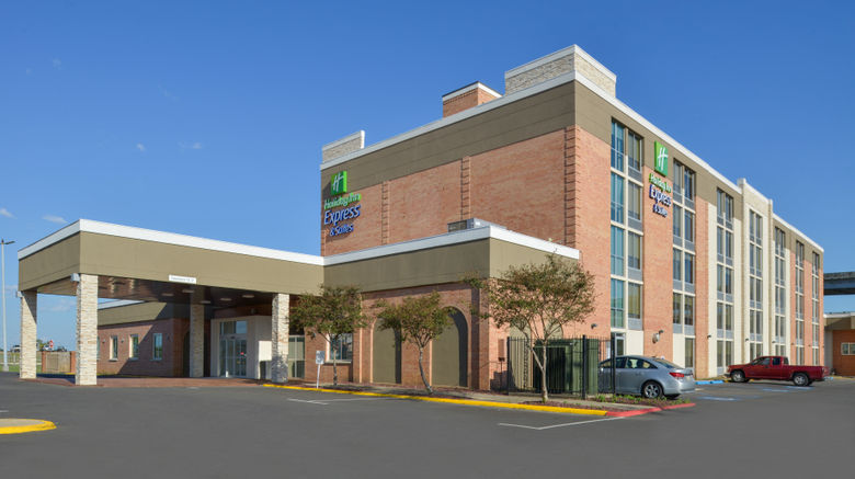 """Holiday Inn Express  and  Suites Downtown Exterior. Images powered by <a href=""""http://www.leonardo.com"""" target=""""_blank"""" rel=""""noopener"""">Leonardo</a>."""