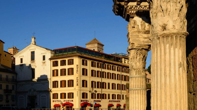 "Hotel Forum Exterior. Images powered by <a href=""http://www.leonardo.com"" target=""_blank"" rel=""noopener"">Leonardo</a>."
