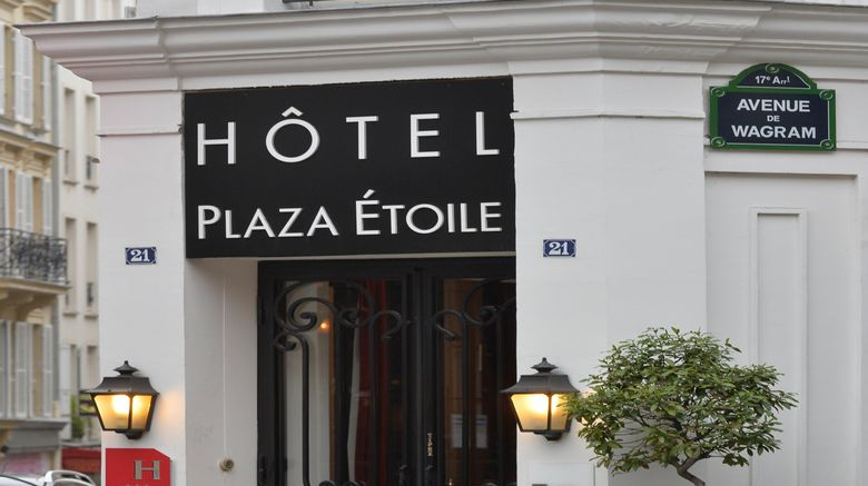 "Hotel Plaza Etoile Exterior. Images powered by <a href=""http://www.leonardo.com"" target=""_blank"" rel=""noopener"">Leonardo</a>."