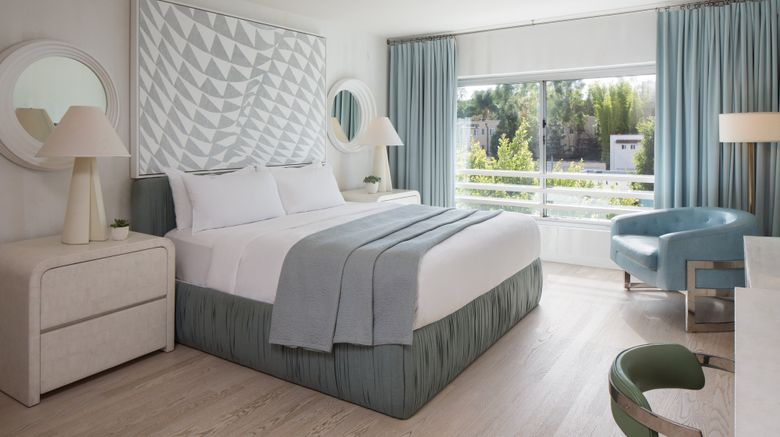 "Avalon Hotel Beverly Hills, Design Hotel Room. Images powered by <a href=""http://www.leonardo.com"" target=""_blank"" rel=""noopener"">Leonardo</a>."