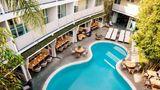 Avalon Hotel Beverly Hills, Design Hotel Recreation
