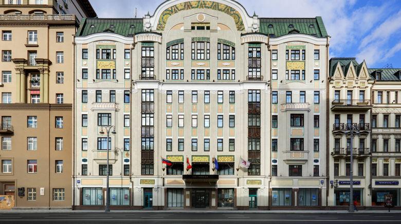 "Moscow Marriott Tverskaya Hotel Exterior. Images powered by <a href=""http://www.leonardo.com"" target=""_blank"" rel=""noopener"">Leonardo</a>."