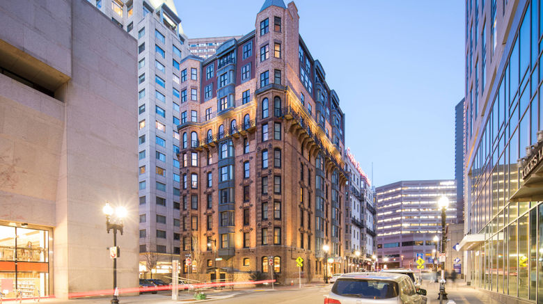 """Courtyard by Marriott at Copley Square Exterior. Images powered by <a href=""""http://www.leonardo.com"""" target=""""_blank"""" rel=""""noopener"""">Leonardo</a>."""