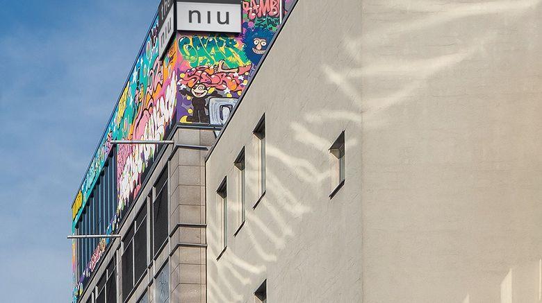"""the niu Hide Exterior. Images powered by <a href=""""http://www.leonardo.com"""" target=""""_blank"""" rel=""""noopener"""">Leonardo</a>."""