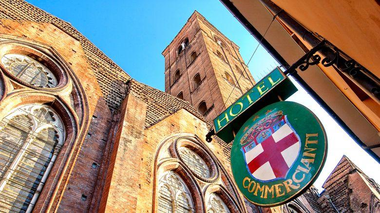 "Art Hotel Commercianti Exterior. Images powered by <a href=""http://www.leonardo.com"" target=""_blank"" rel=""noopener"">Leonardo</a>."